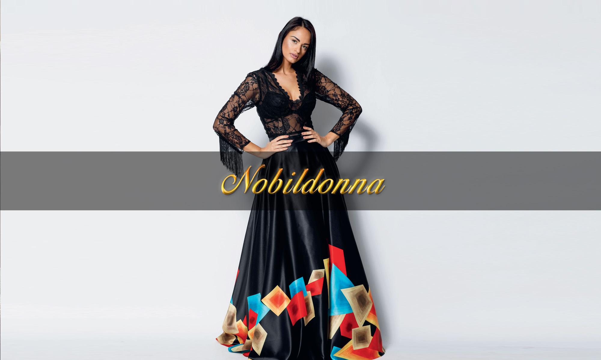 Vestiti Lunghi Eleganti Shop Online.Nobildonna Abiti Da Cerimonia Napoli Abbigliamento Donna Napoli